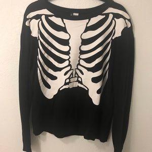 Skeleton sweater